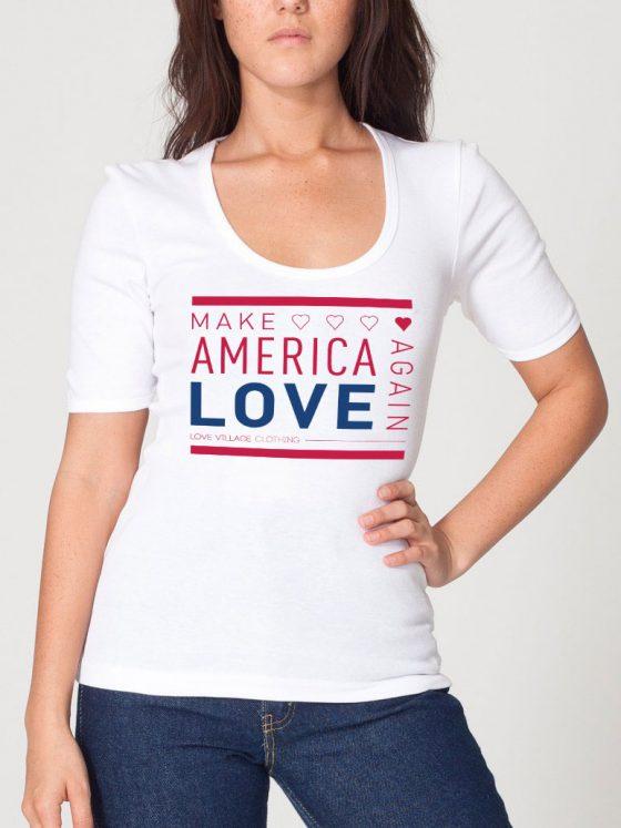 Make America Love Again Special Edition Love Village Tee